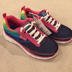 NWT Sports by Sketchers Girls Sneakers, size 13